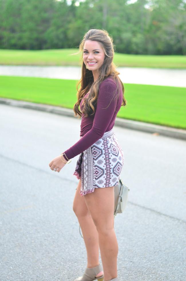 Garnet Gameday skirt -16