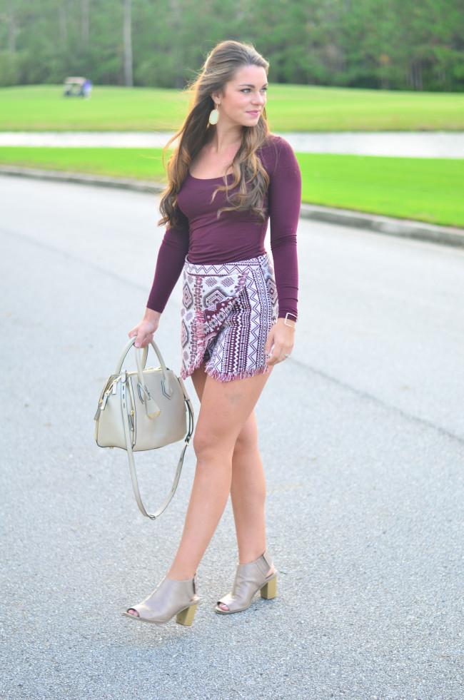 Garnet Gameday skirt -17