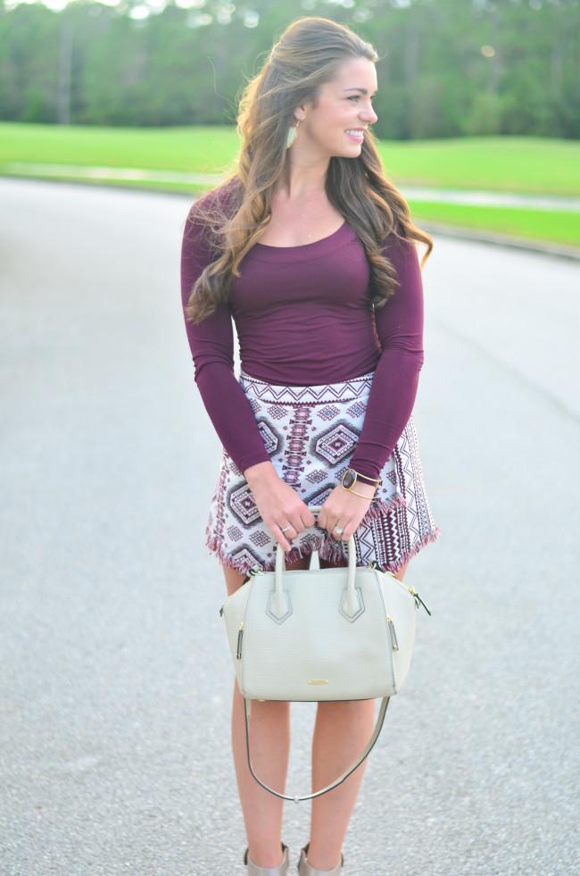 Garnet Gameday skirt vibrance-9
