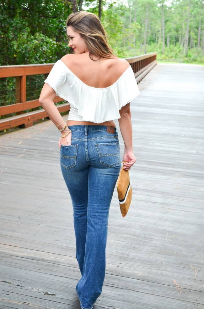 white flare shirt flare jeans-13