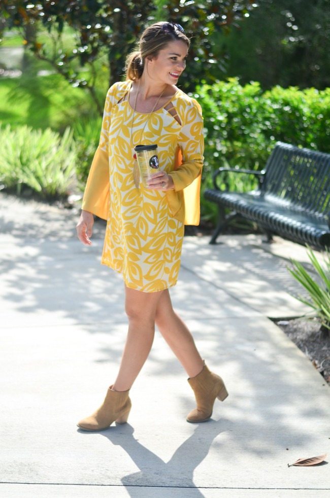 yellow game day dress-5