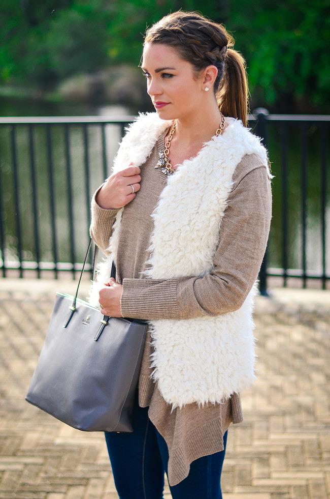 white fuzzy vest-4