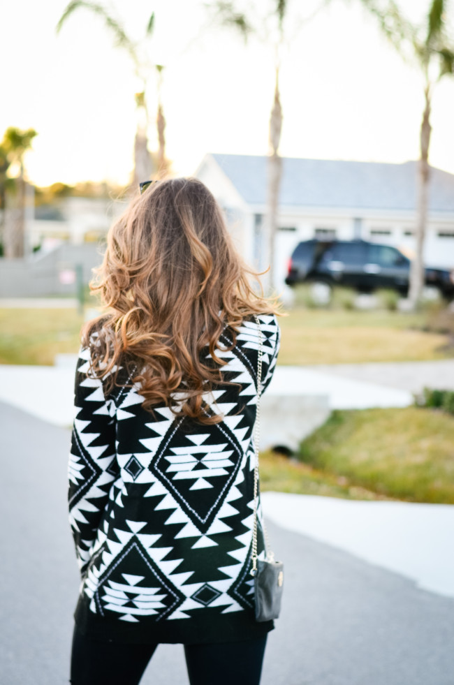 Aztec Sweater-1
