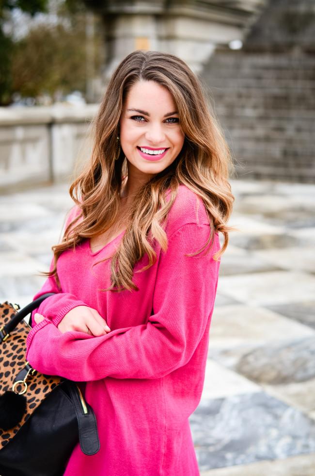 hot pink and cheetah -1