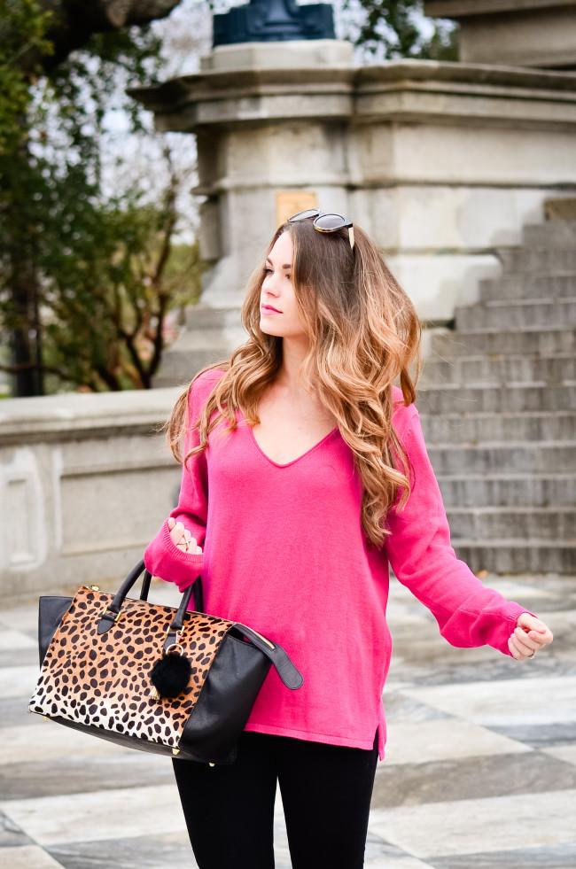 hot pink and cheetah -16