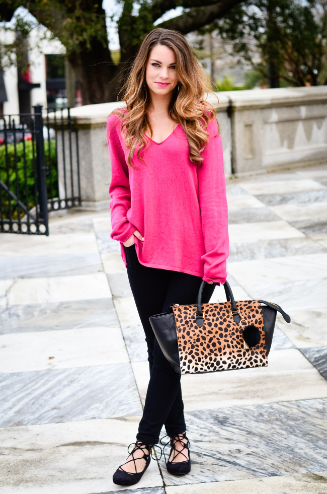 hot pink and cheetah -4