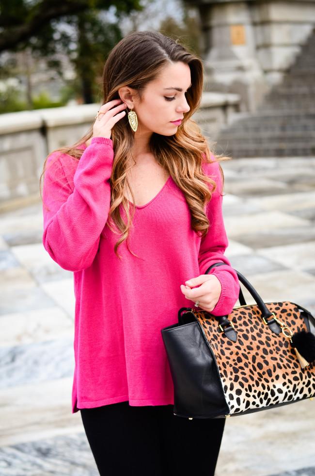 hot pink and cheetah -7