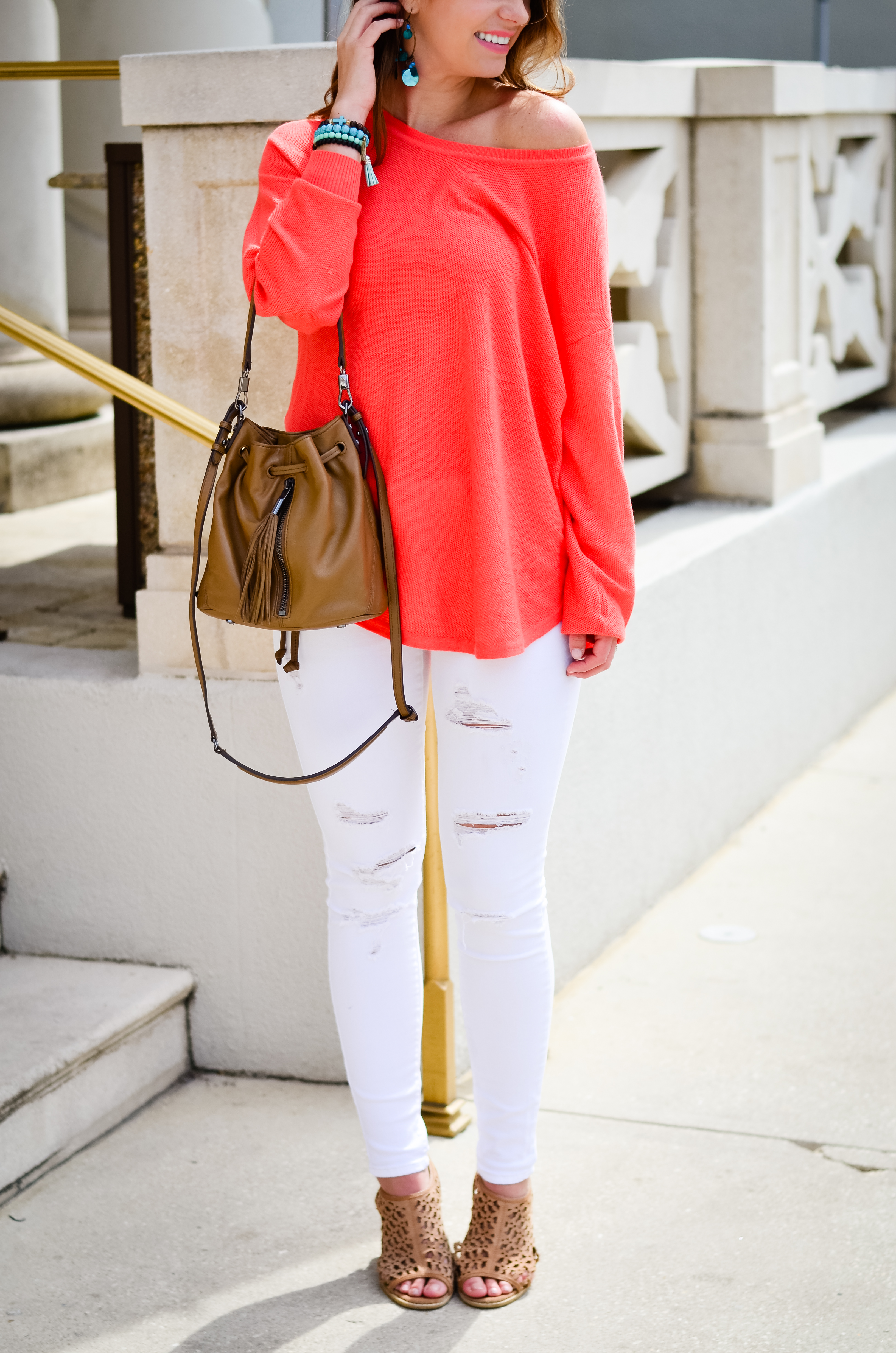 Coral Sweater in St. Aug-15
