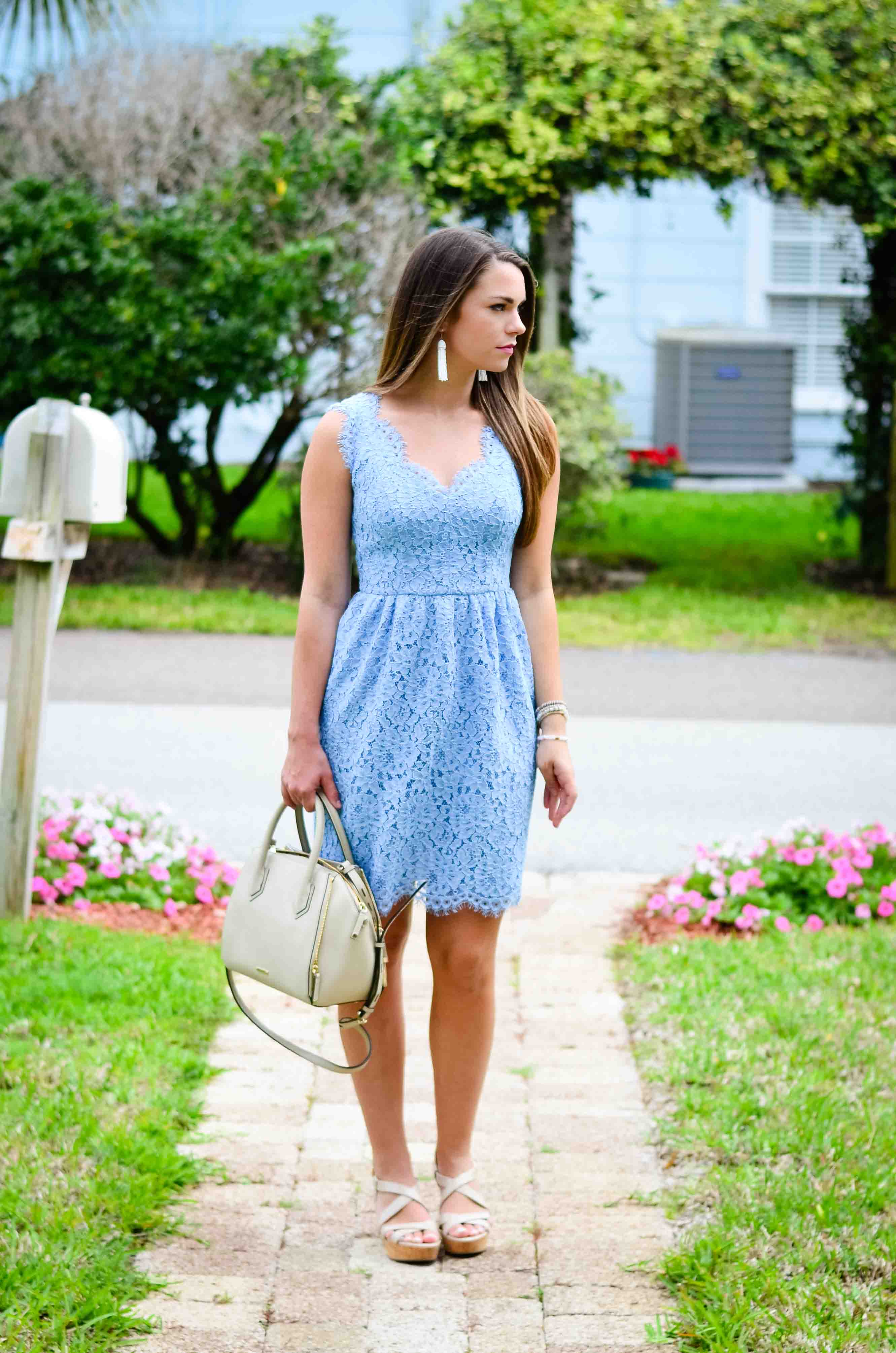Spring Lace Dress-1