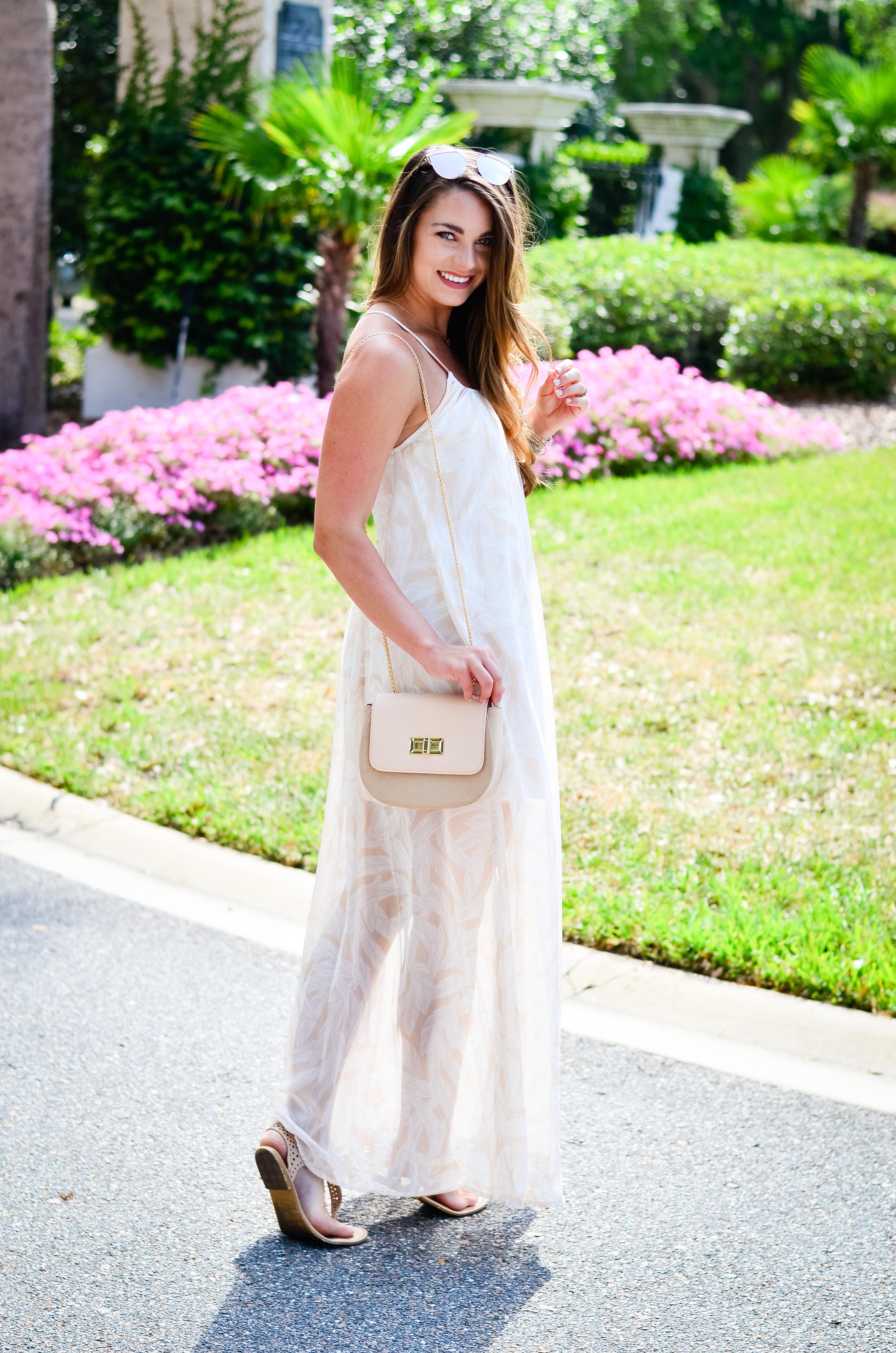 Dallas Print Maxi Dress-15