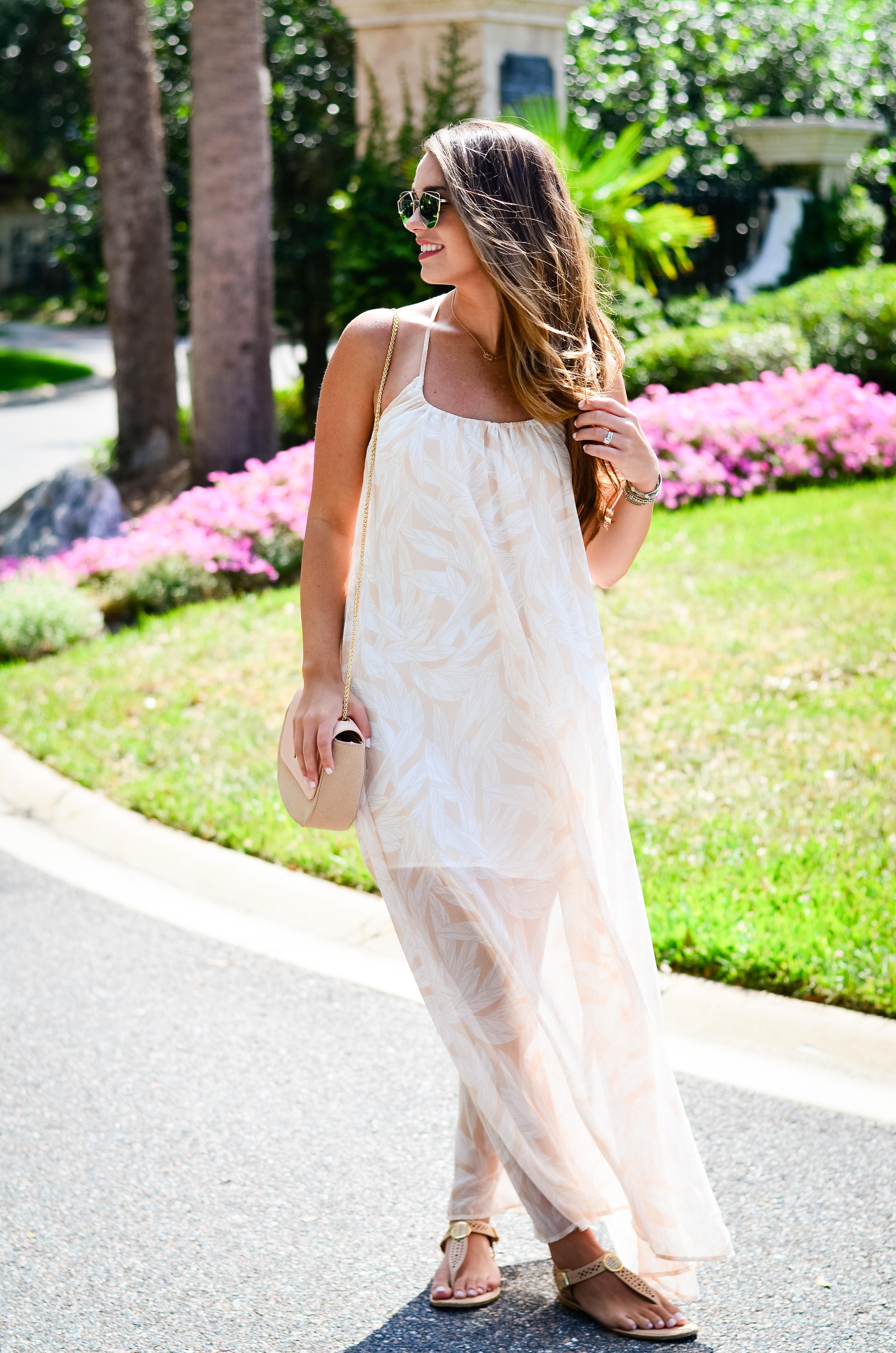 Dallas Print Maxi Dress-7