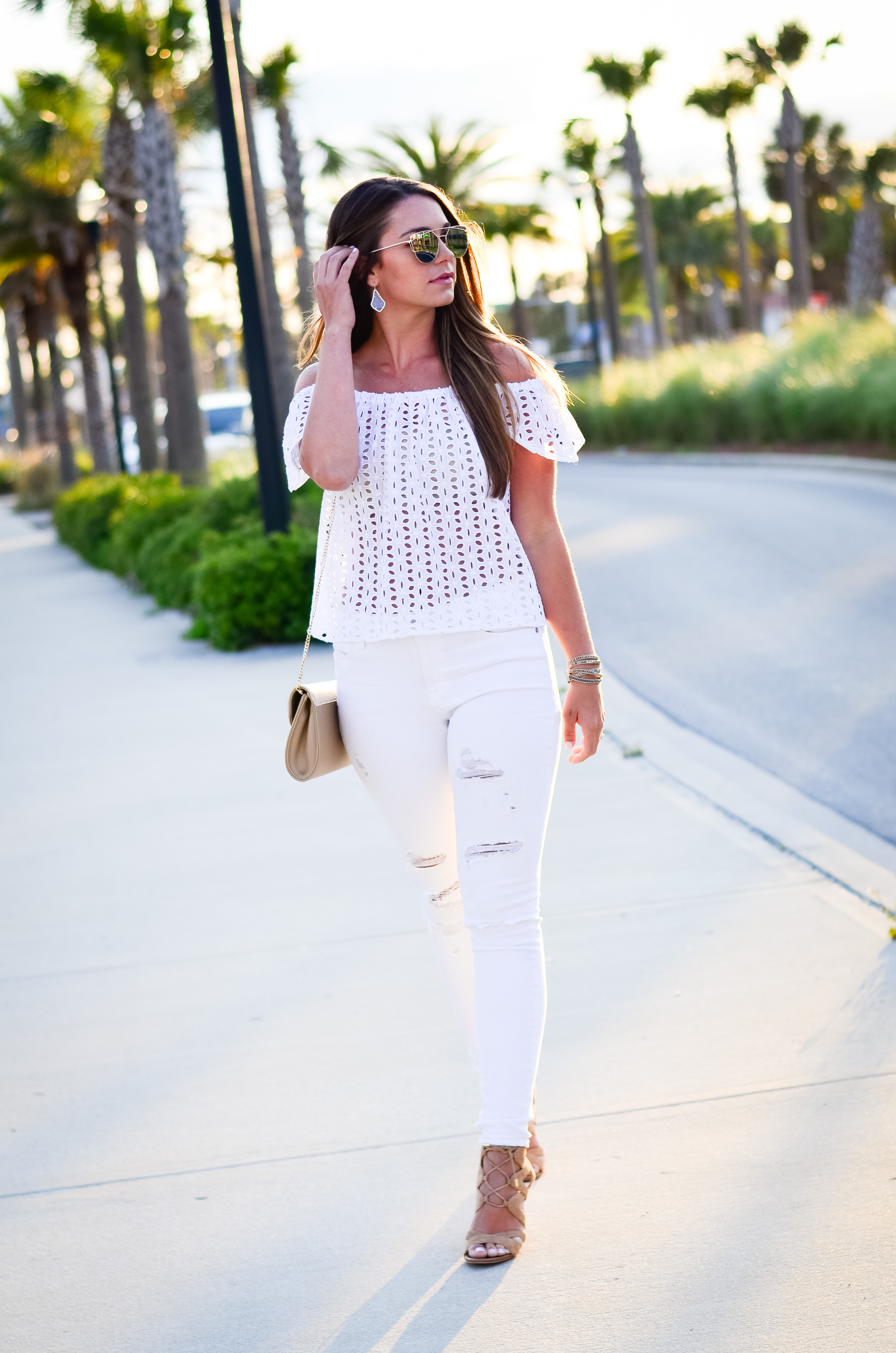 white eyelet top white denim-25