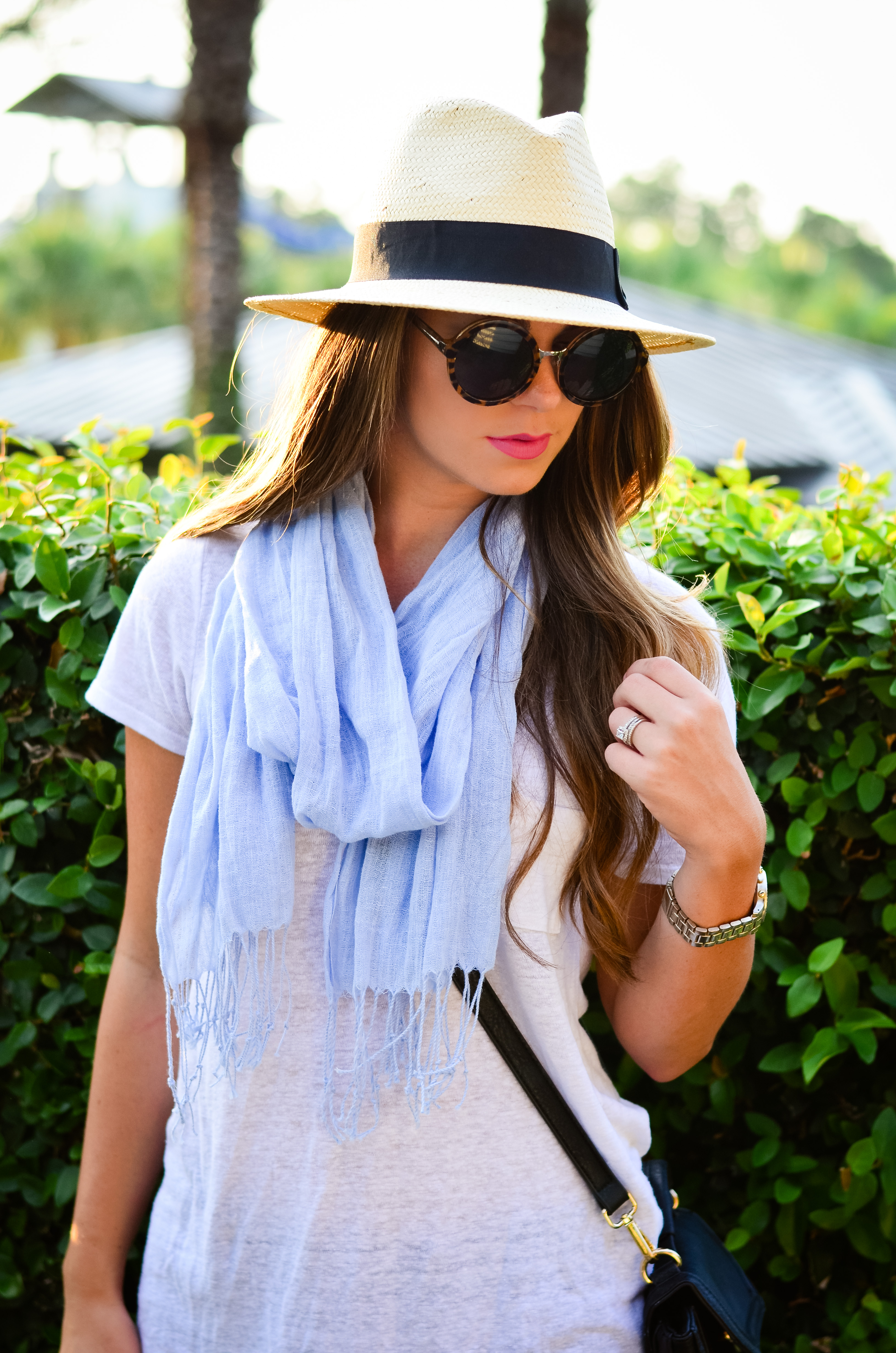 fedora and blue scarf-2
