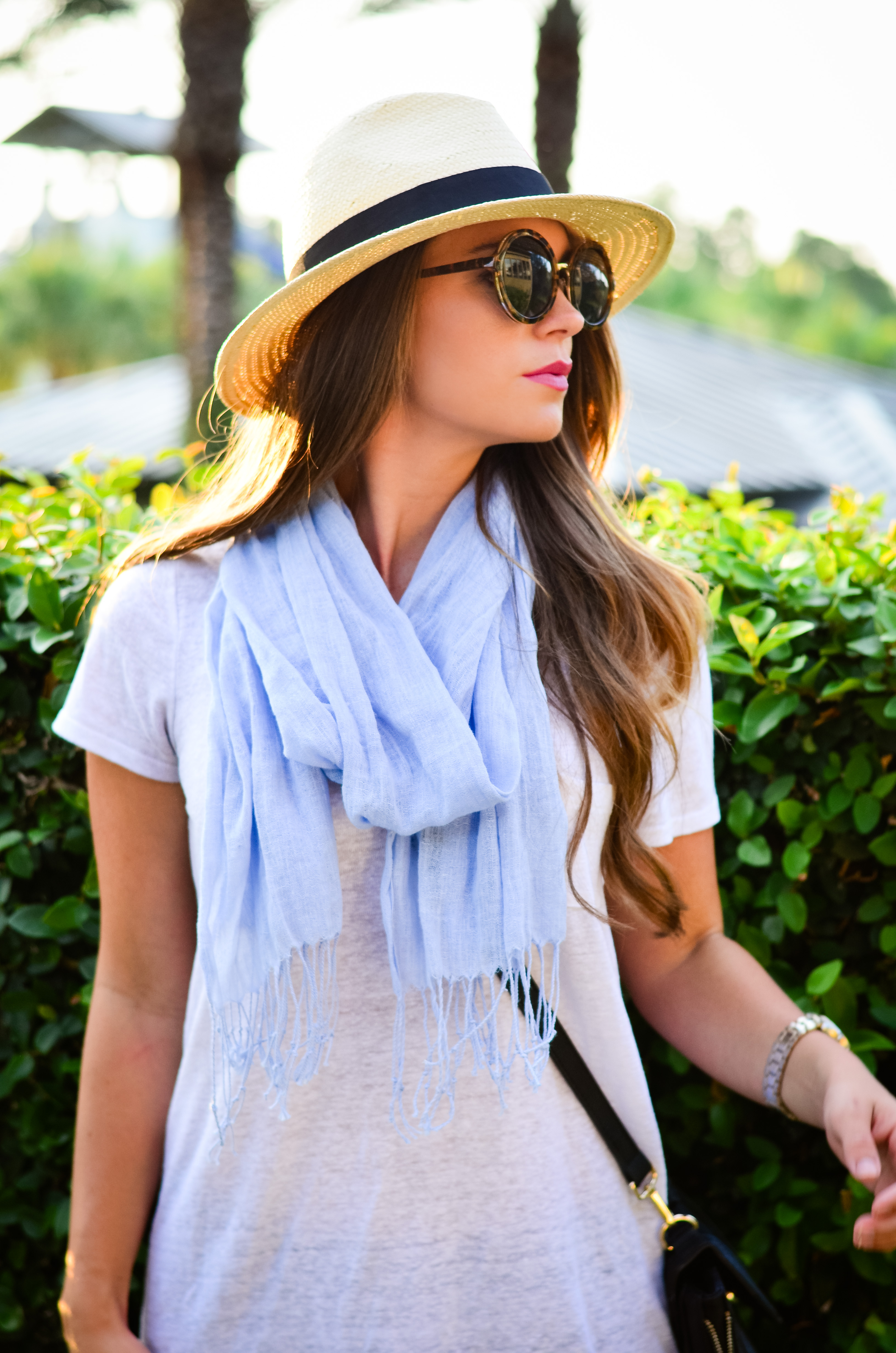 fedora and blue scarf-3