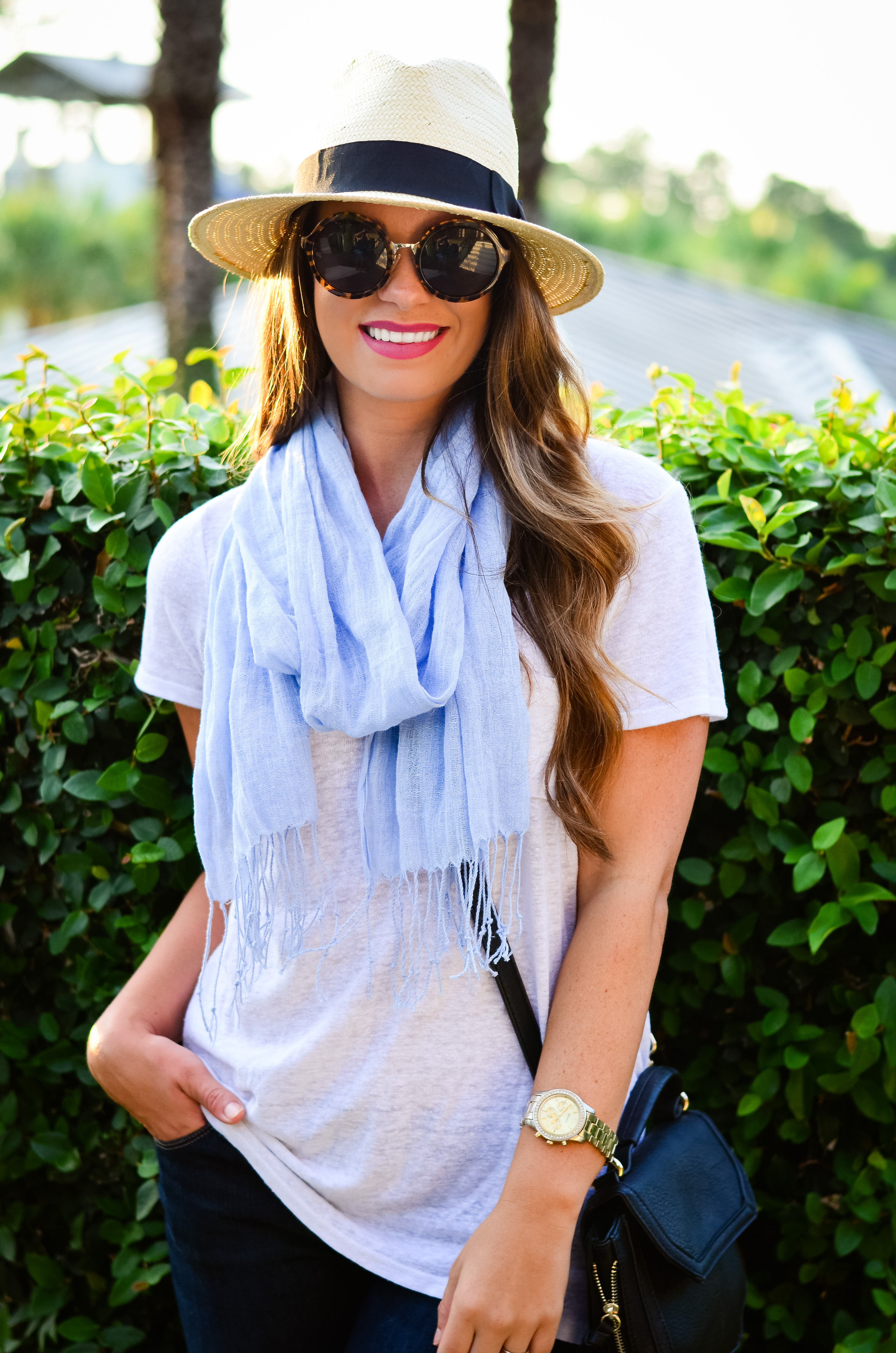 fedora and blue scarf-9