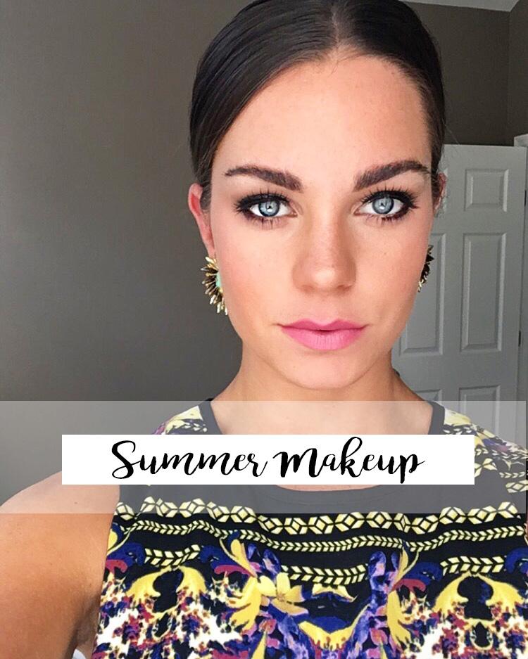 summer makeup title