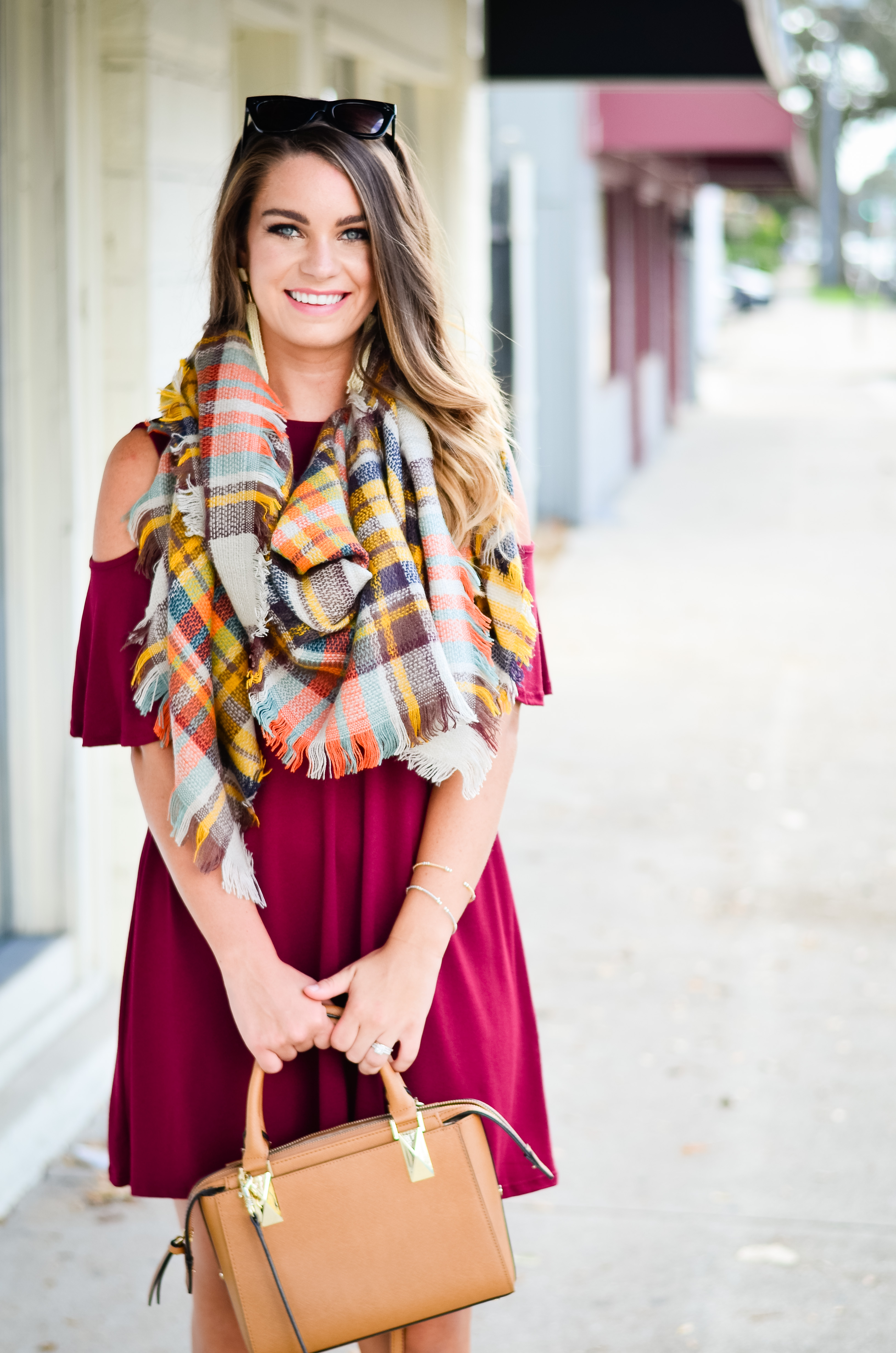maroon-dress-blanket-scarf-goldfinch-19