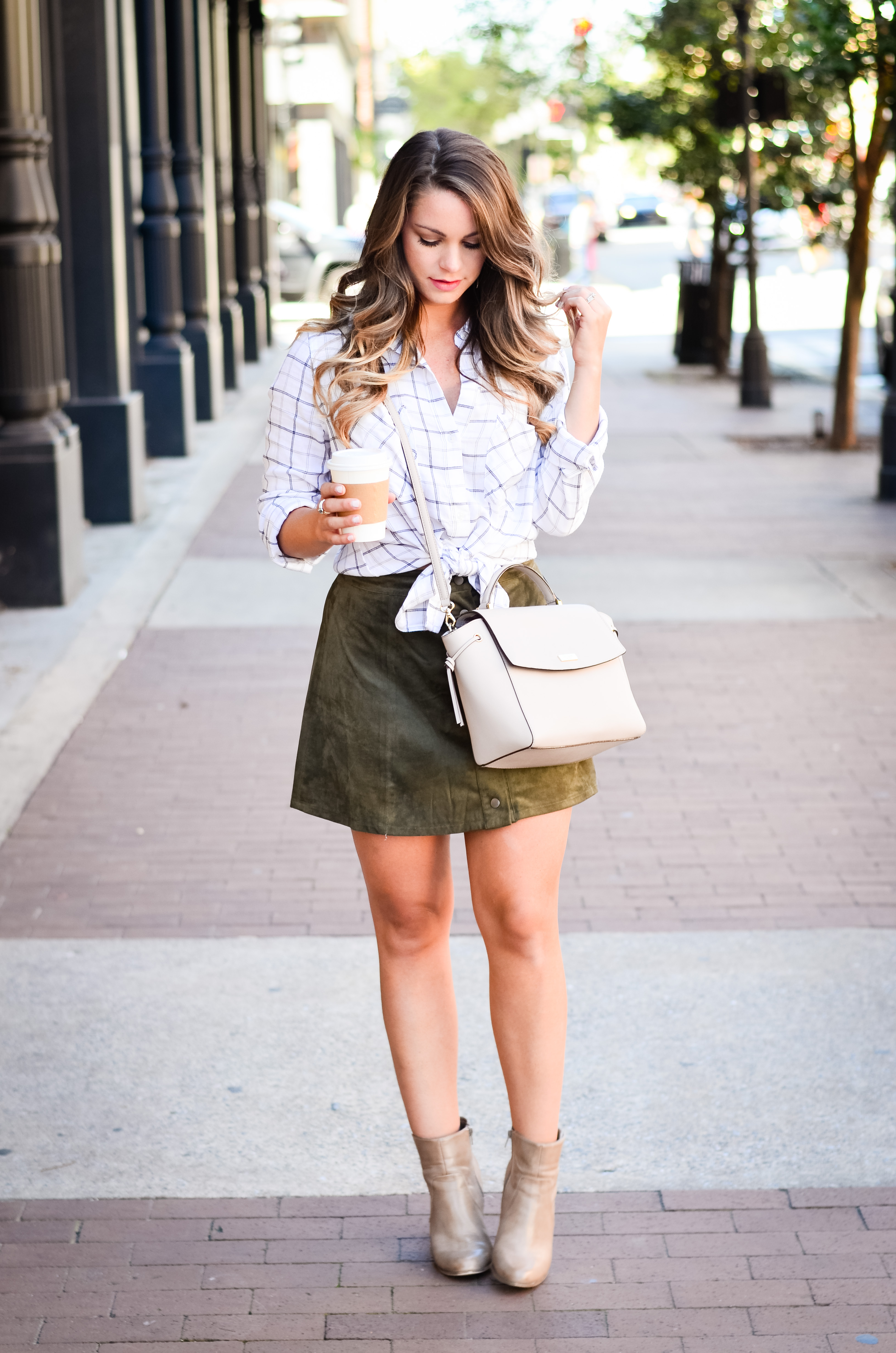 olive-suede-skirt-white-flannel-3
