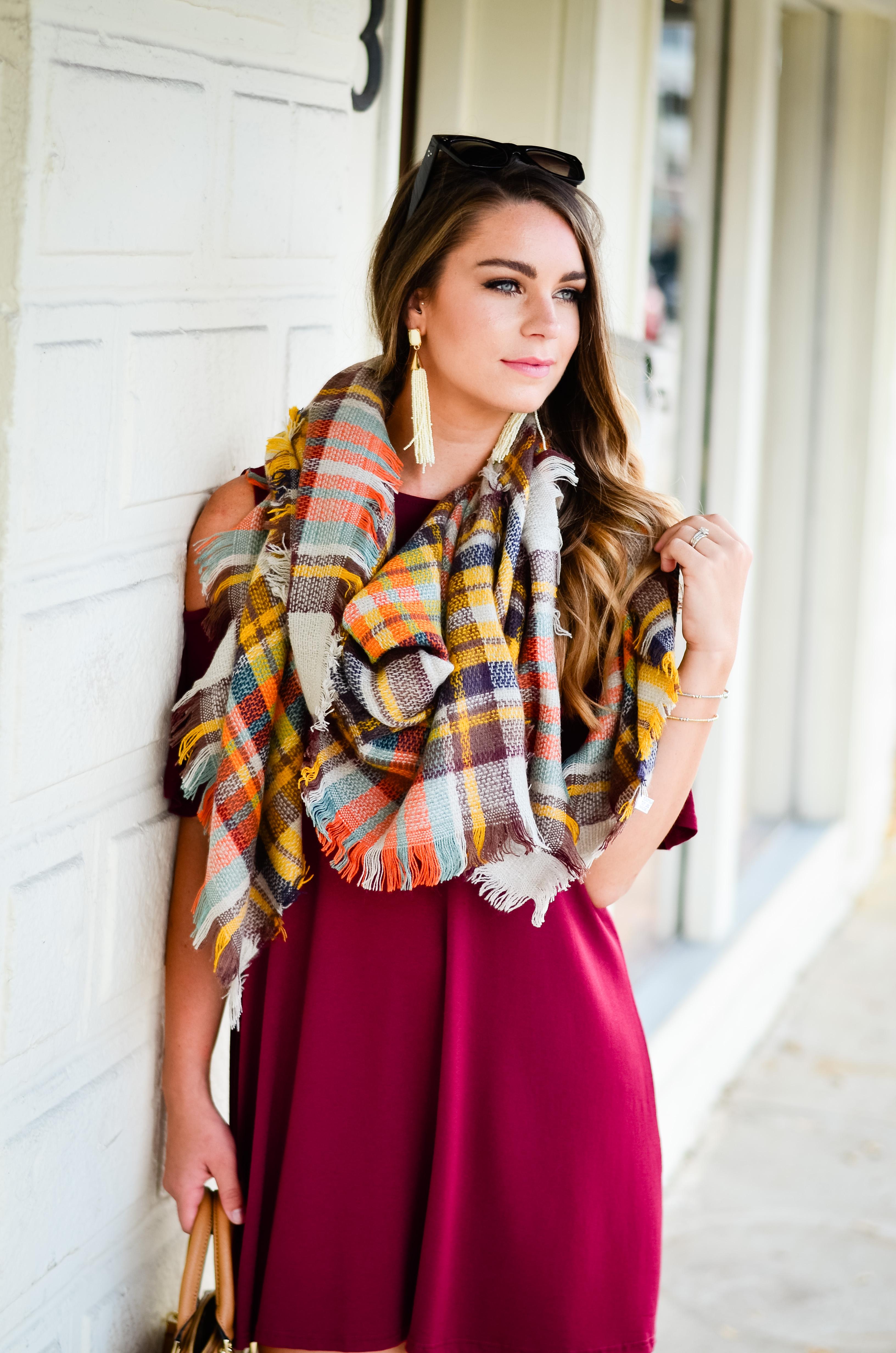 maroon-dress-blanket-scarf-goldfinch-26